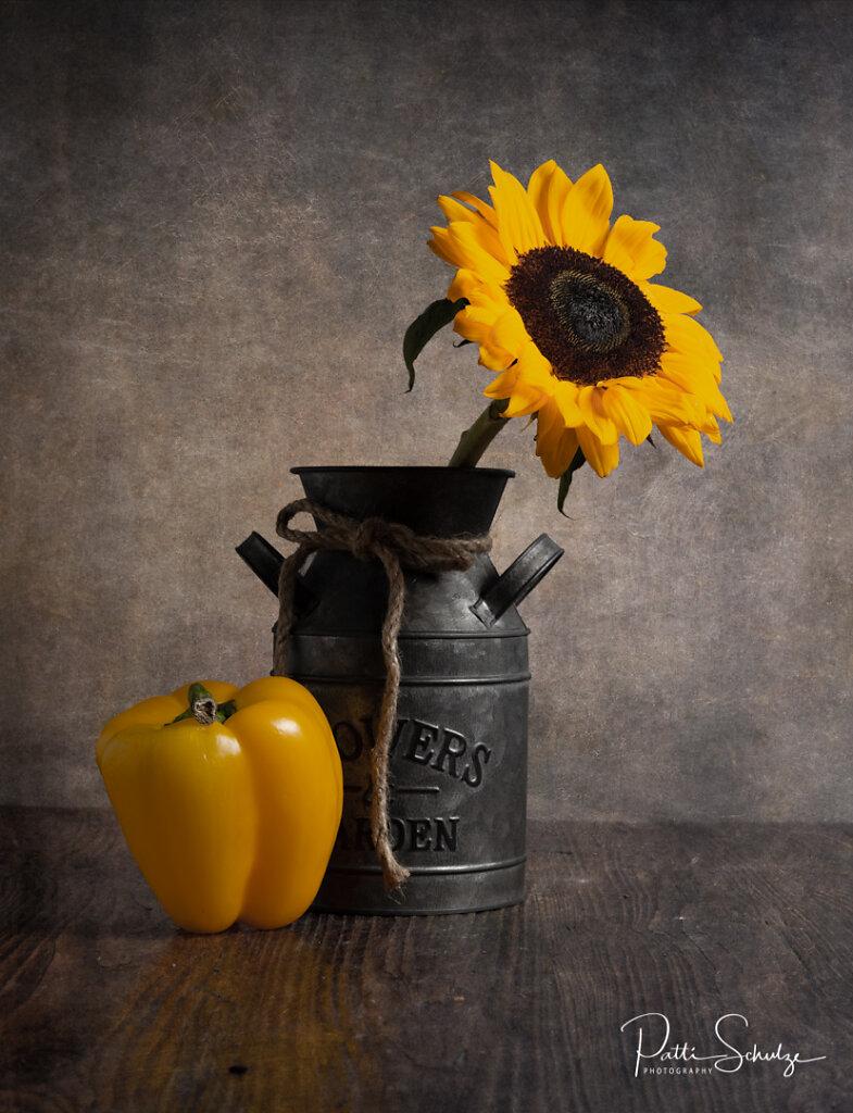 Sunflower and Pepper